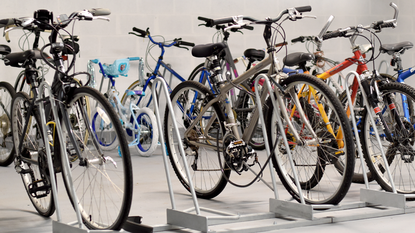 Long Term Bike Storage Room