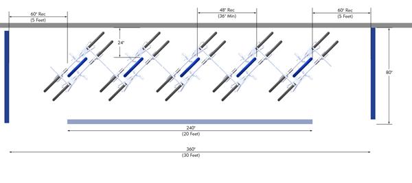 Bike-Corral-Angle-to-Curb-Manuever-Zone-Bike-Rack-Layout