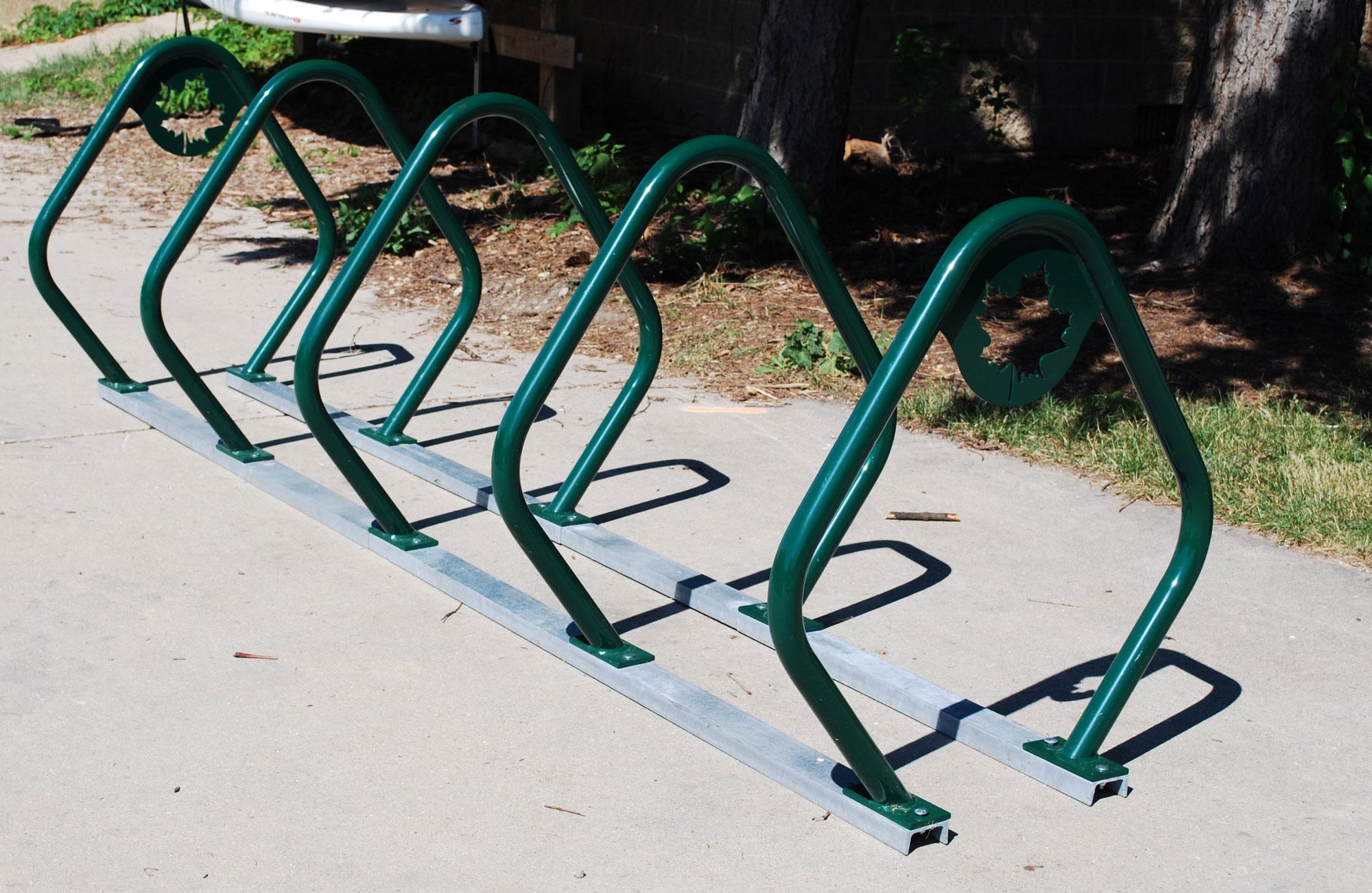 Custom-Bike-Rack-Maple-Leaf