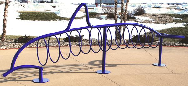 Dolphin-Custom-Bike-Rack