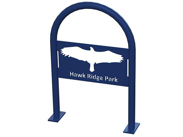 Hawk-Bird-Bike-Rack