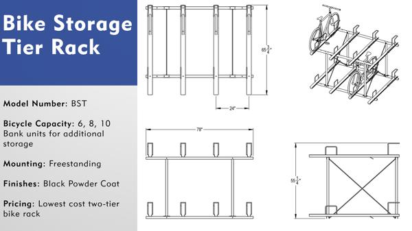 Tier Bike Rack Overview
