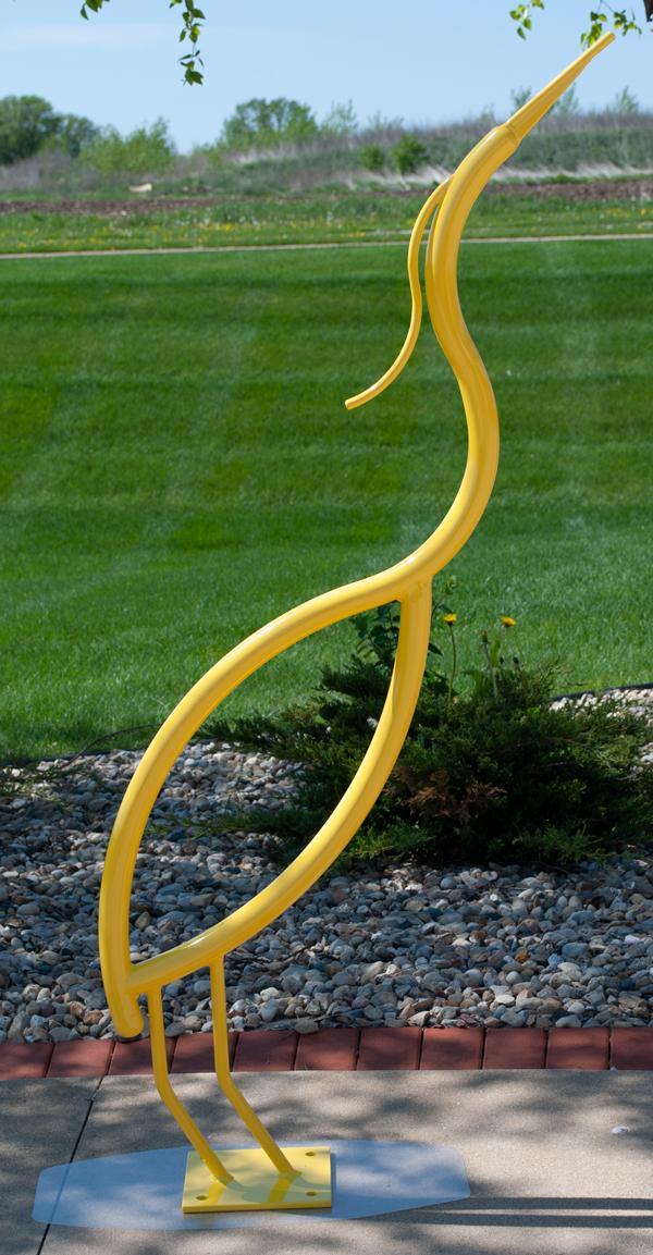 Yellow-Bird-Heron-Bike-Rack