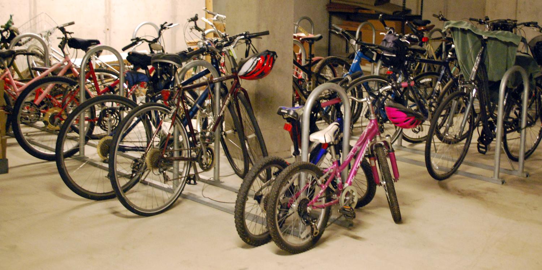 Bike-Room-Inverted-U-Racks-on-Rails