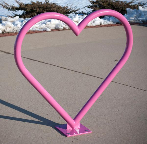 Heart Bike Rack