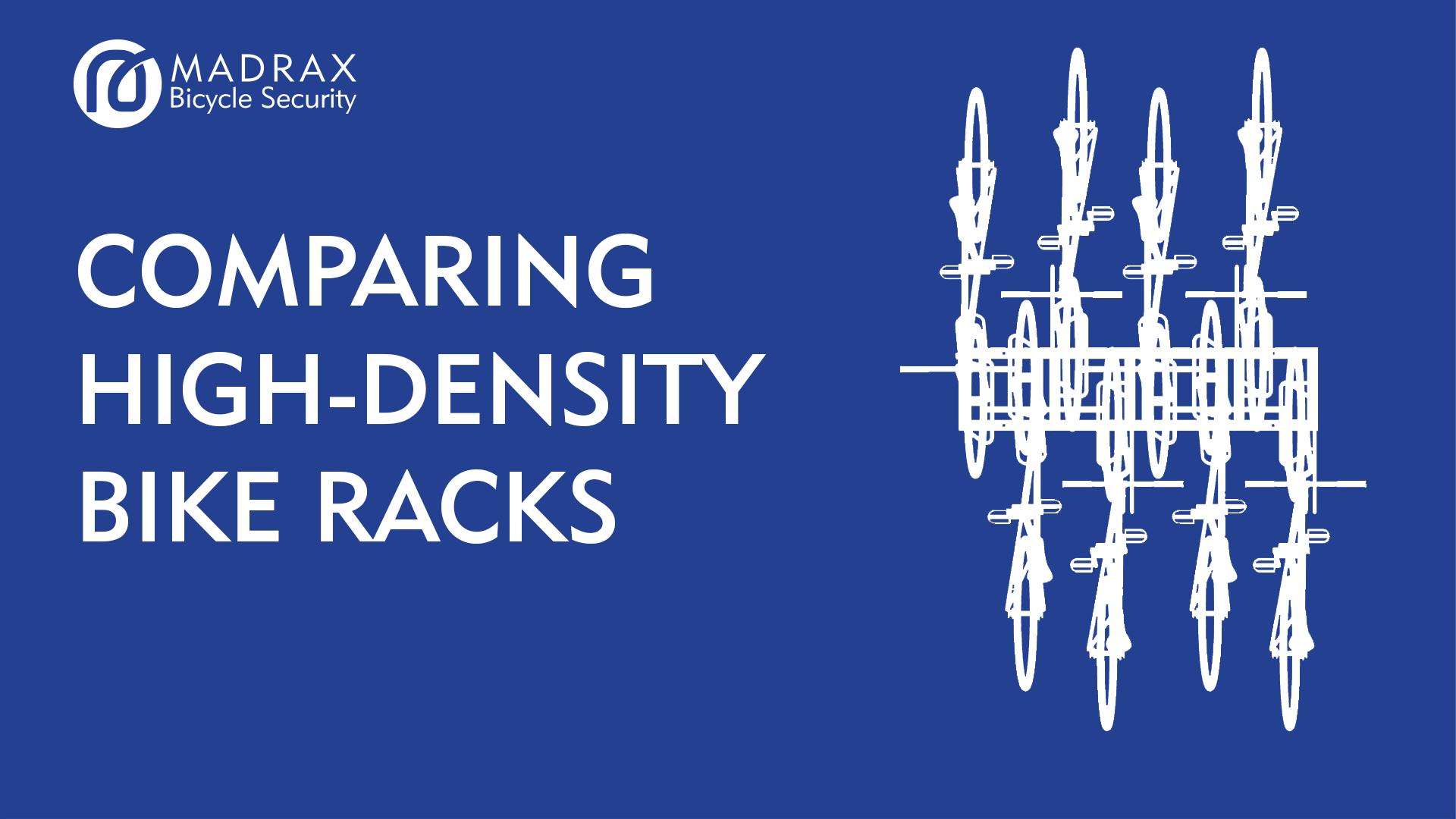 High Density Bike Rack Image and Title